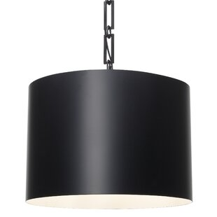 Brayden Studio Luff 6-Light Drum Pendant