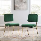 Negron Upholstered Side Chair (Set of 2) by Everly Quinn