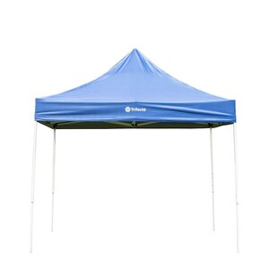10 Ft. W x 10 Ft. D Steel Pop-up Canopy by Trifecte