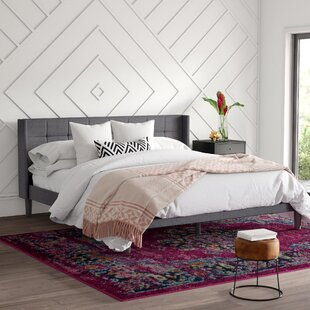 Rhymer Upholstered Platform Bed by Mercury Row
