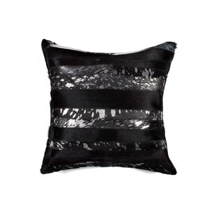 Colletti Cowhide Throw Pillow
