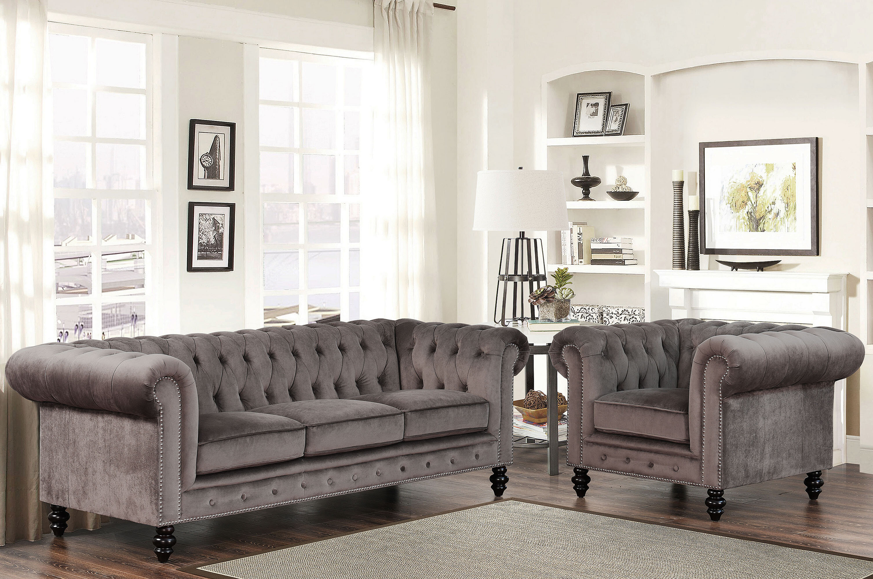 Brooklyn 2 Piece Living Room Set