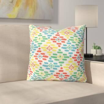 East Urban Home Forest Floor Polyester Throw Pillow Wayfair