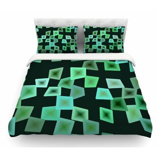 Seaglass on the Shore Digital Featherweight Duvet Cover By East Urban Home