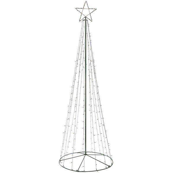 The Seasonal Aisle 360cm Large Pop Up Christmas Tree Lighted Display