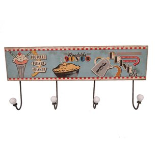 Nielsen Wall Mounted Coat Rack By George Oliver