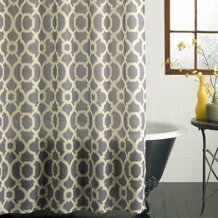 Butler Lattice Single Shower Curtain