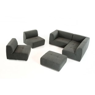 Lumpkin Modular Sectional with Ottoman