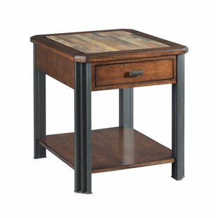 Price Check Juarez End Table with Storage by Union Rustic