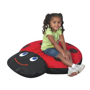 Ladybug Bean Bag Chair by Children's Factory