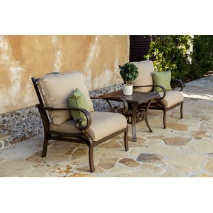 Rivera Lounge Chair with Cushion (Set of 2) by Royal Garden
