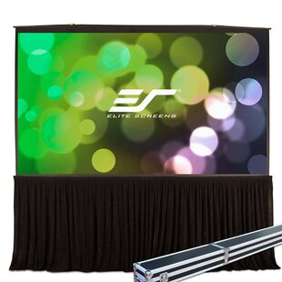 White Portable Projection Screen by Elite Screens Sale