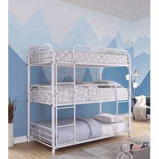 Affordable Price Bunce Twin Triple Bed by Zoomie Kids Reviews (2019) & Buyer's Guide