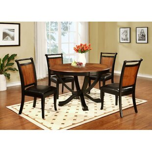 Pierz 5 Piece Dining Set by August Grove Purchase