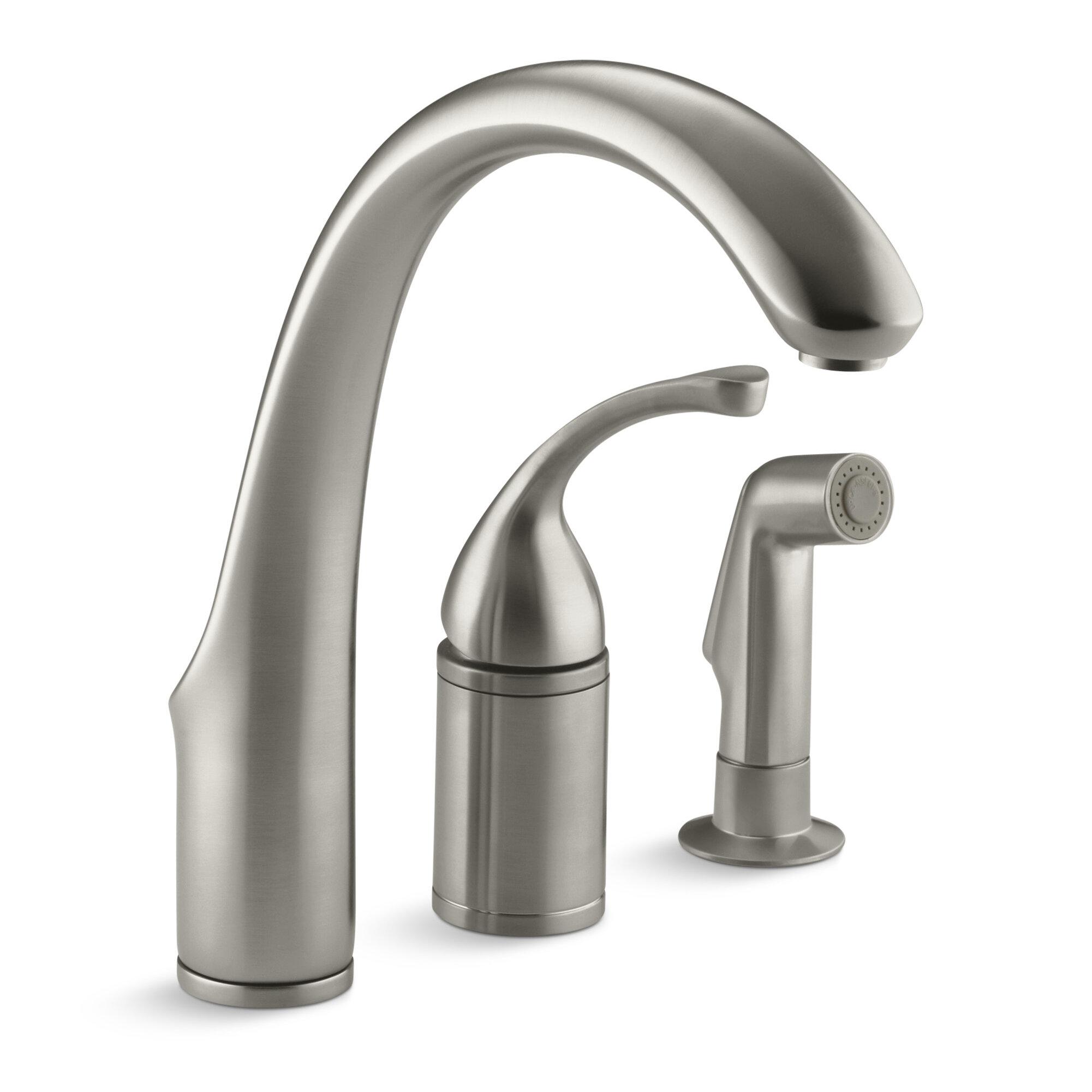 K 10430 Bn Cp Bv Kohler Forte 3 Hole Remote Valve Kitchen Sink