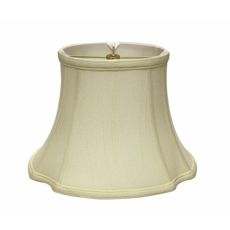 Winston Porter 9 H Silk Shantung Bell Lamp Shade Spider Wayfair