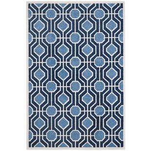 Great Price Furey Light Blue / Navy Indoor/Outdoor Area Rug ByGeorge Oliver