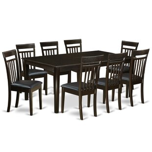 Krieg 9 Piece Extendable Dining Set Red Barrel Studio