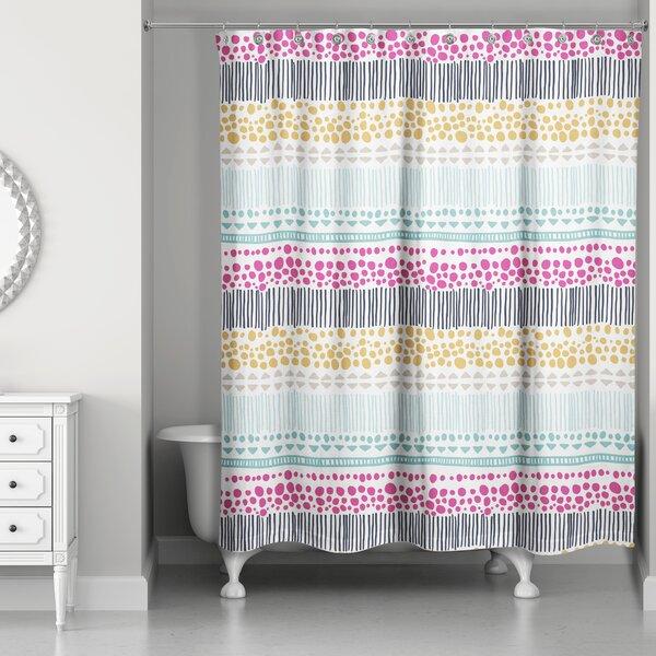 Brayden Studio Rickman Tribal Print Shower Curtain