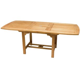 Nicolette Extendable Teak Dining Table