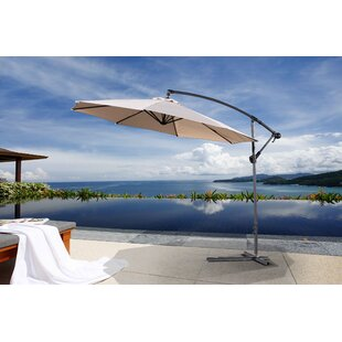 Latitude Run Dore Patio 10' Cantilever Umbrella