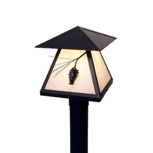 Overstreet 1-Light Post by Millwood Pines