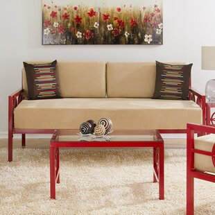 Red Barrel Studio Millerton Modern Daybed with Mattress