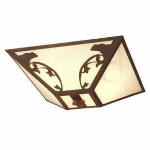 Steel Partners Bavarian 2-Light Flush Mount