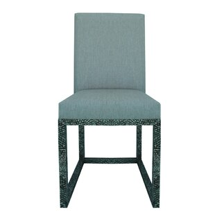 Fish Skin Side Chair by Serge De Troyer Collection