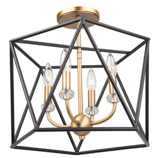 Harmony 4-Light Semi Flush Mount