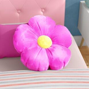 Judah Daisy Flower Plush Floor Pillow
