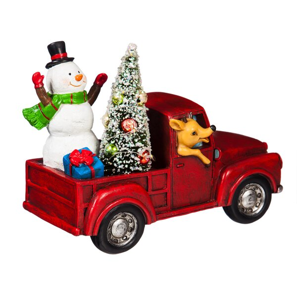 christmas truck decor wayfair