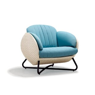 100 Essentials Circle Single Sofa with Cu..