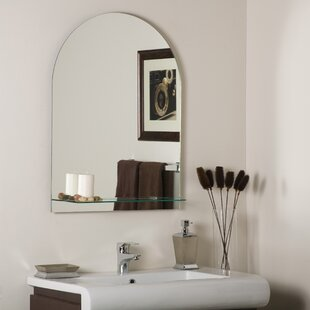 Affordable Roland Frameless Wall Mirror By Decor Wonderland