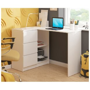 Moriz L-Shape Computer Desk By Ebern Designs