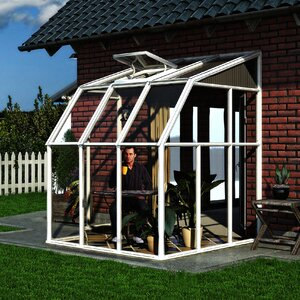 Sun Room 2 6 Ft. W x 6 Ft. D Greenhouse