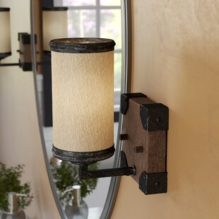 Cheyanne 1-Light Bath Sconce by 17 Stories