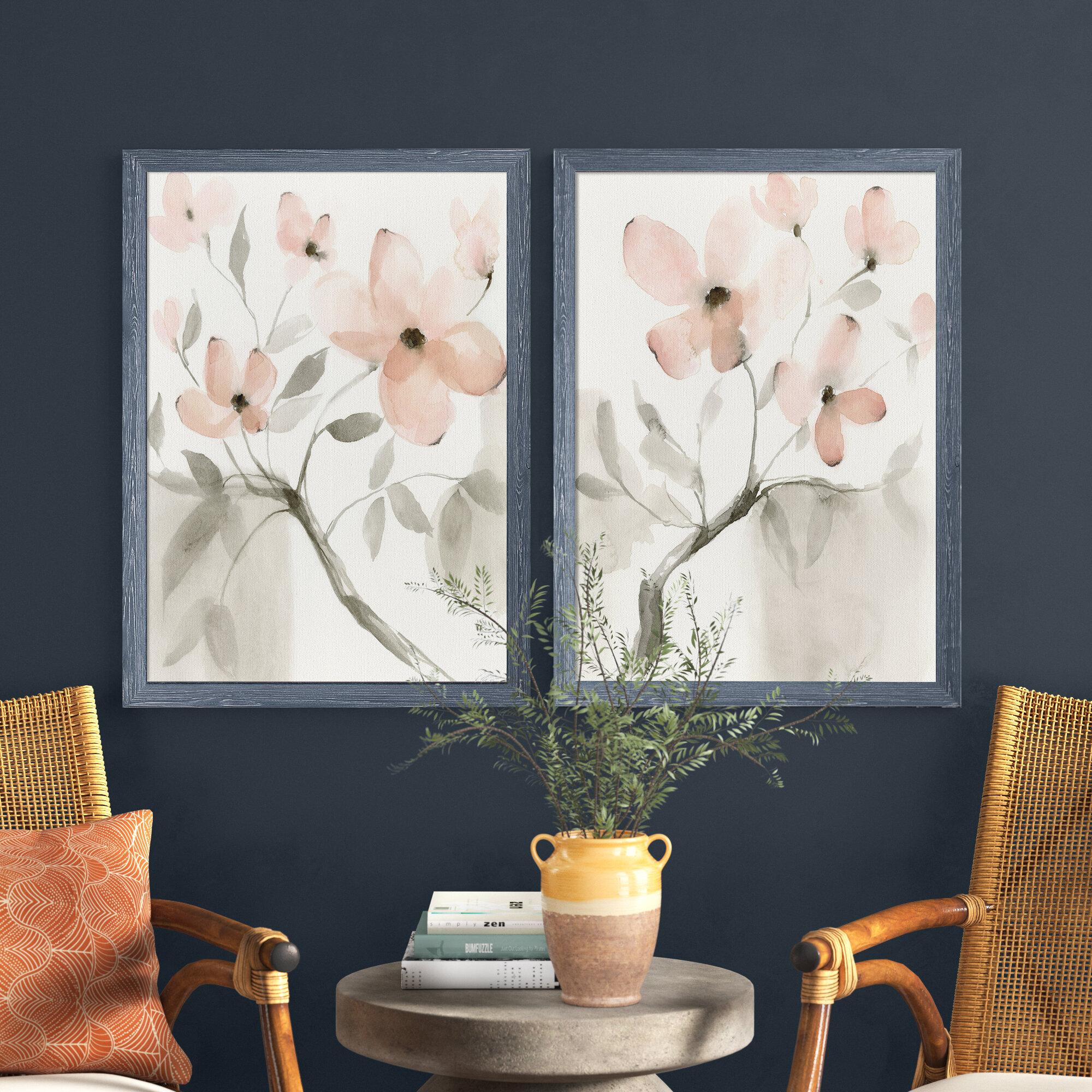 Dogwood Dream I By Vincent Van Gogh 2 Piece Picture Frame Painting Print Set Reviews Joss Main