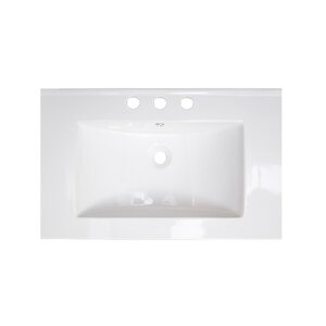 Flair Drop-in 24 Single Bathroom Vanity Top by American Imaginations