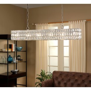House of Hampton Marcela 10-Light Crystal Pendant