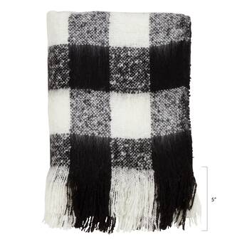 George Oliver Bittle Diamond Weave Cotton Throw Reviews Wayfair