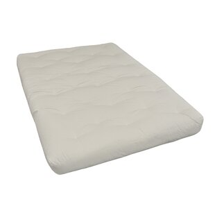 8 Cotton Twin XL Size Futon Mattress by Gold Bond