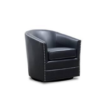 Piedmont Furniture Ella Swivel Barrel Chair Reviews Wayfair