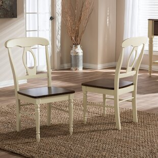 Delmi Solid Wood Dining Chair (Set of 2)