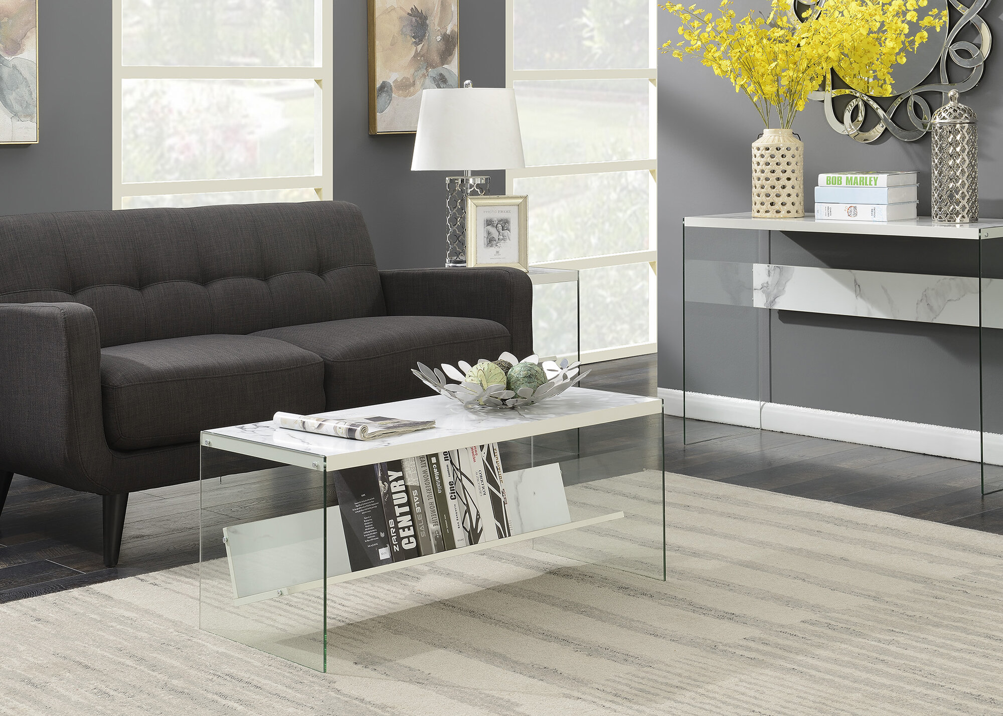 Calorafield Coffee Table With Storage