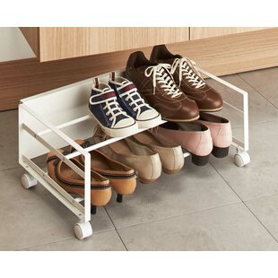 Read Reviews Frame 2-Tier Shoe Rack By Yamazaki Home