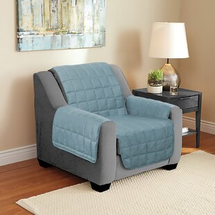 Suede Armchair Slipcover