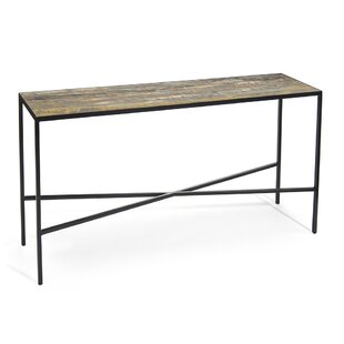 John-Richard Gilded Onyx Sofa Table