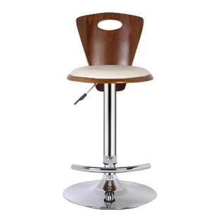 Langton Height Adjustable Swivel Bar Stool By George Oliver