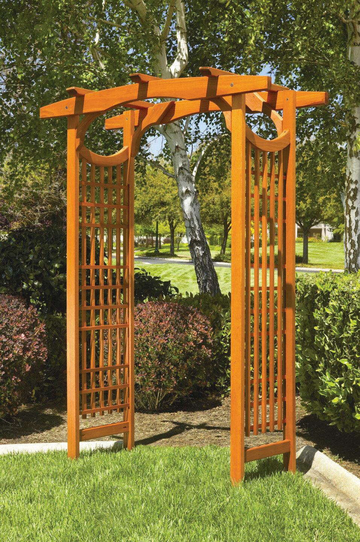 Greenstone Garden American Bungalow Garden Wood Arbor & Reviews ...